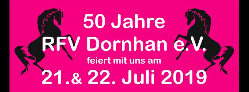 50jähriges Jubiläum am 21. und 22. Juli 2019 – unser Programm