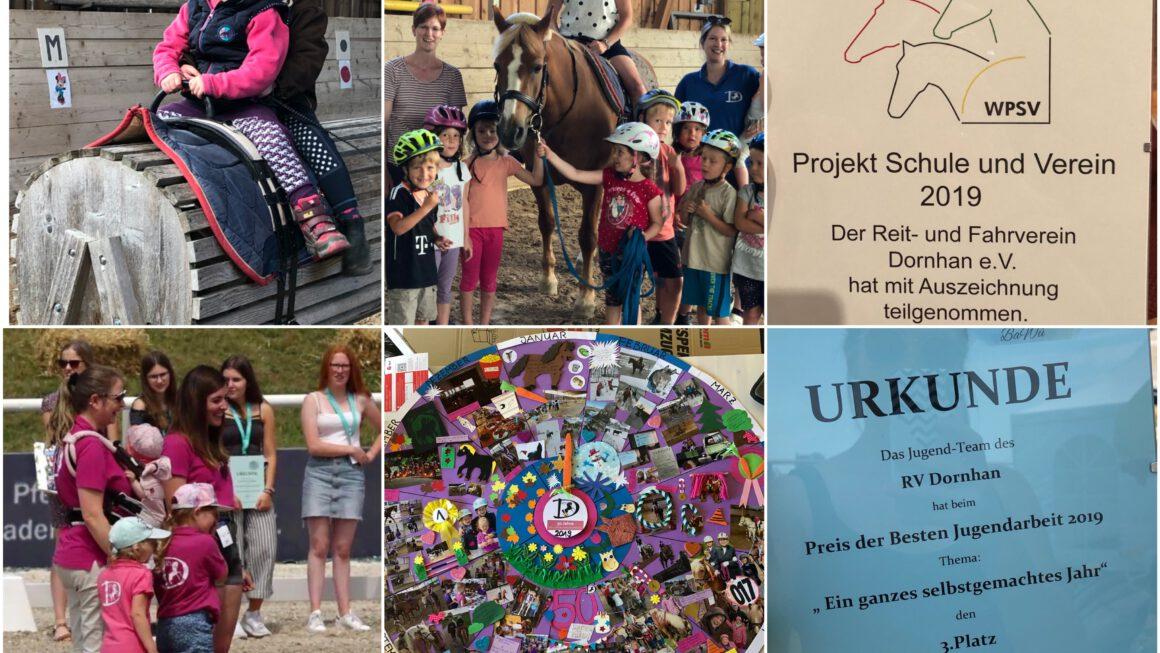 RV Dornhan mehrfach ausgezeichnet: Kooperation Kindi und Verein und Preis der besten Jugendarbeit