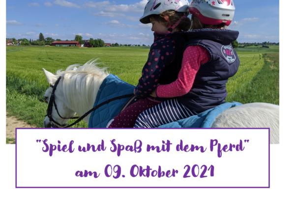 Spiel und Spaß am 9. Oktober 2021 + Anmeldeformular